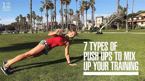 types  push ups  mix   training youtube