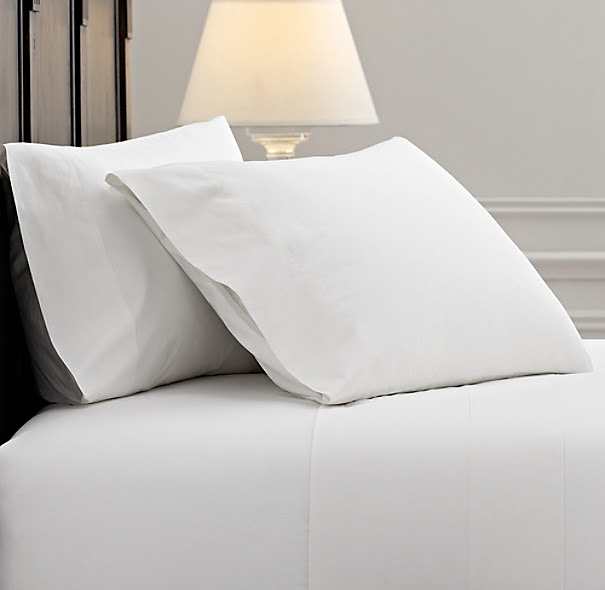 Italian Vintage-Washed 464 Percale Sheet Set | Sheeting ...