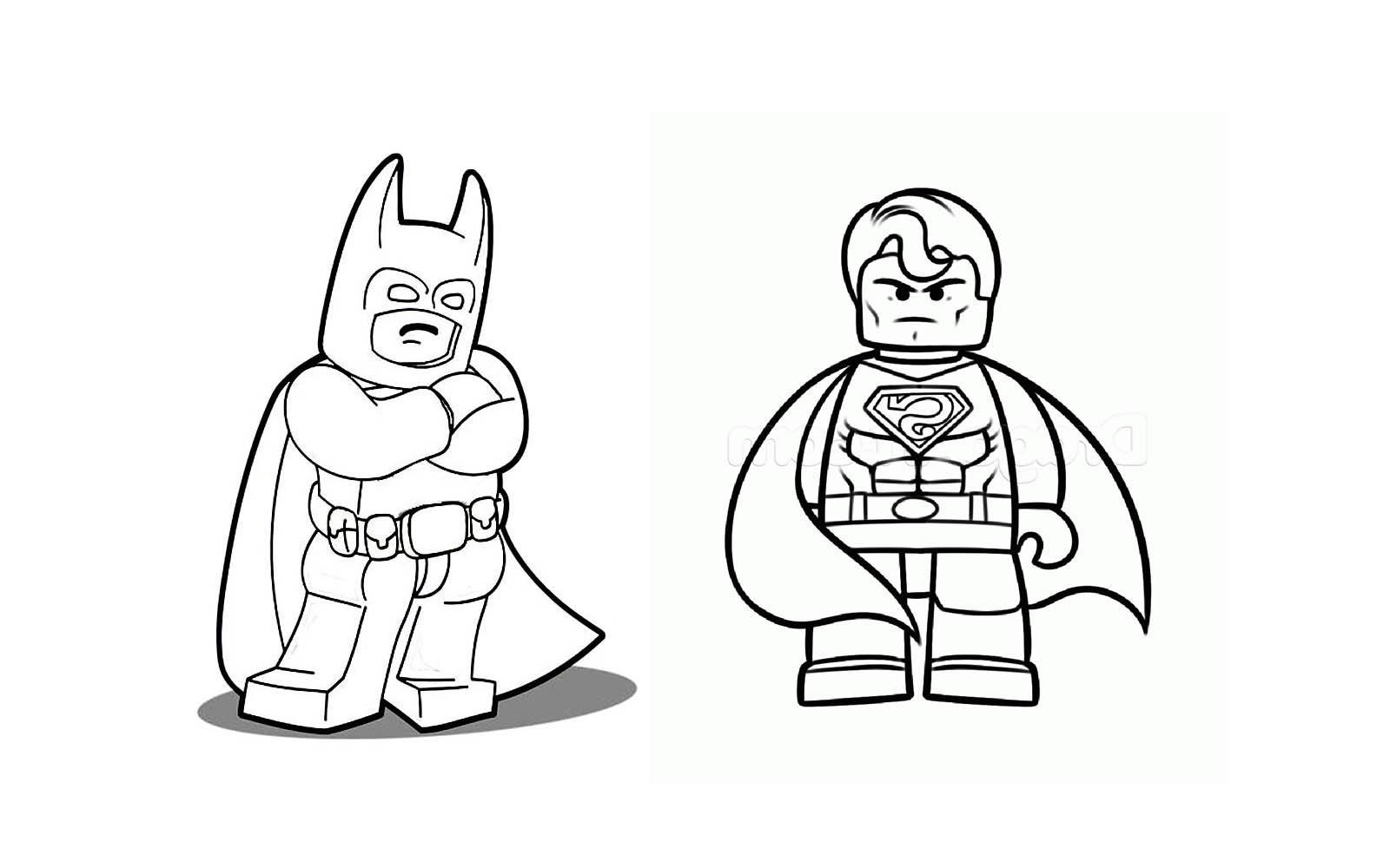 310 Dessins De Coloriage Batman à Imprimer Sur Laguerchecom Page 6