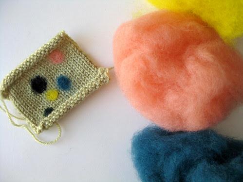 wool-filling