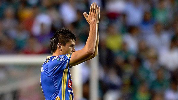 Othoniel marcó un gol y después el San Luis permitió que cayera otro, sin oponer resistencia.