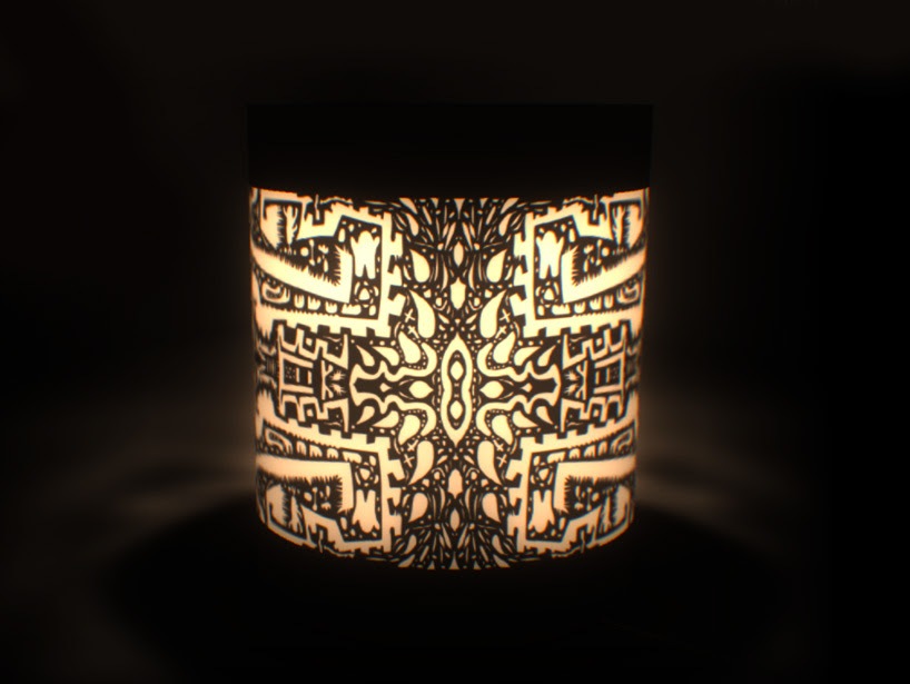 panasonic solar lantern project cut out the darkness designboom
