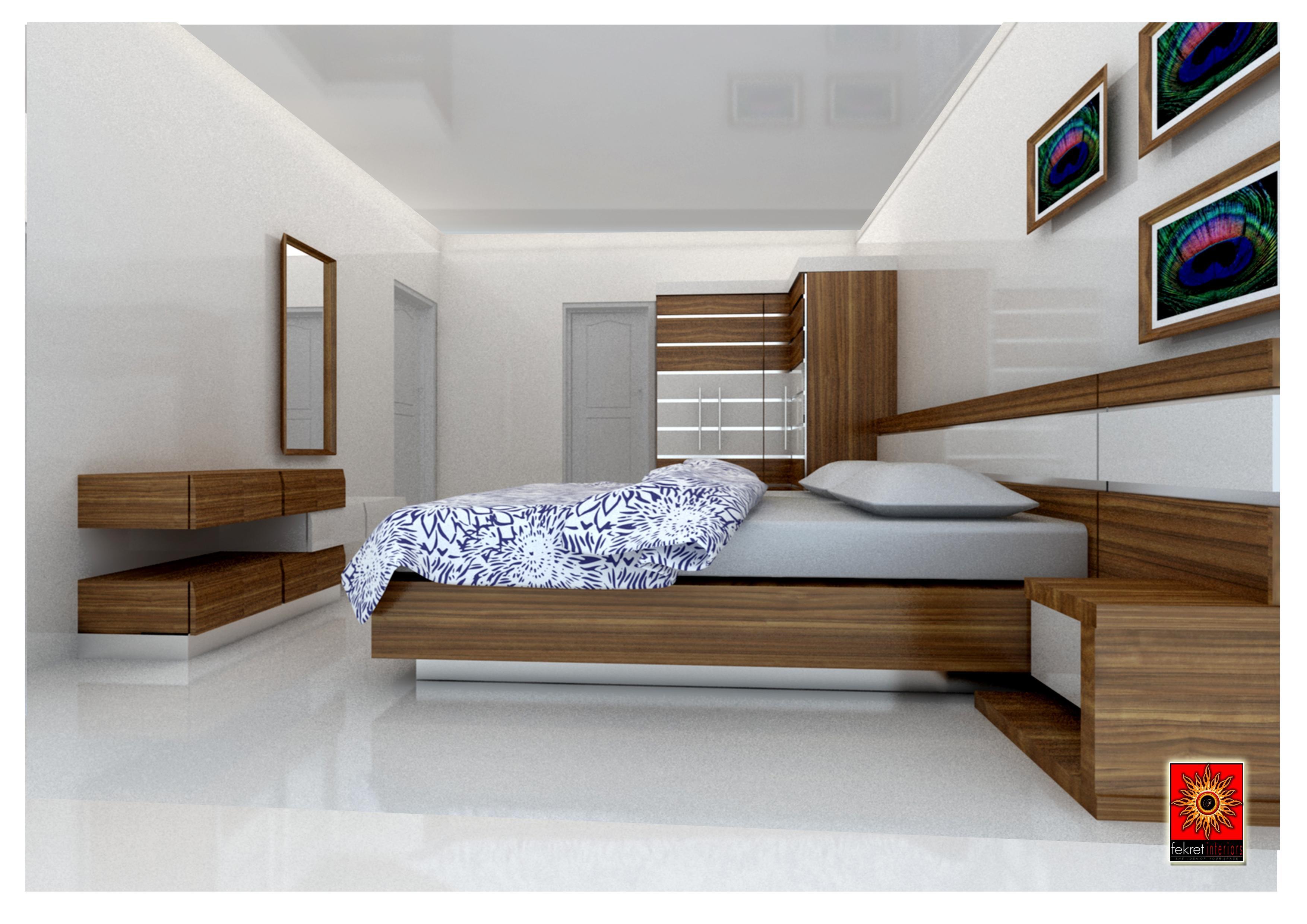 Simple Bedroom Interior Design - Bedroom Interior Designs