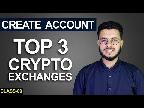 TOP 3 CENTRALIZED EXCHANGE | Crypto for Beginners | Class-9