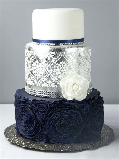 home improvement. Navy blue wedding cake   Summer Dress