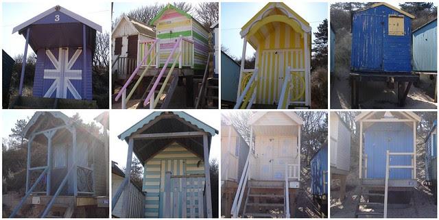 Wells next the sea beach huts