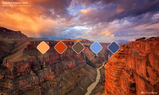 6 Natural Colour Palettes from Iconic Landscapes Around the World