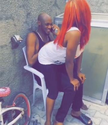 Annie Idibia Gives Tuface Lap-Dance While Tuface Laughs In Admiration(Pics,Video