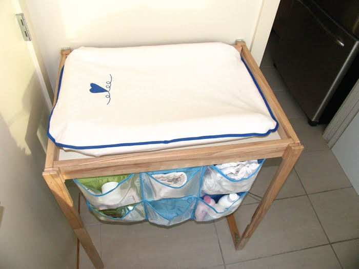 Condo Perfect Baby Changing Table - IKEA Hackers