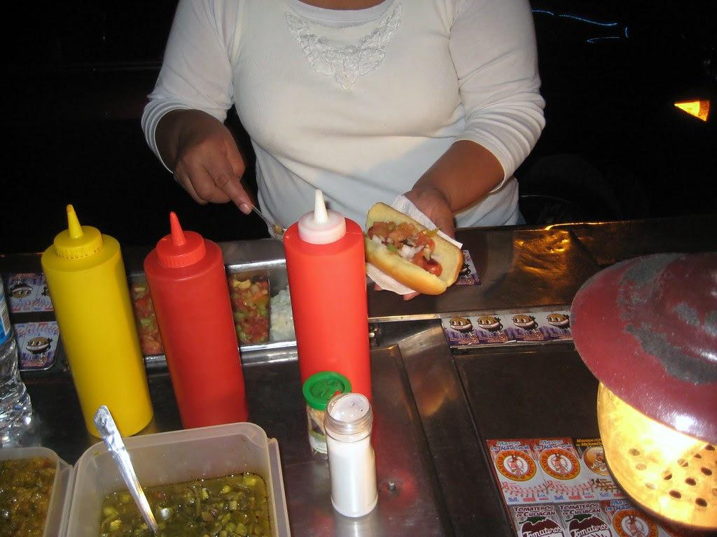 Bacon Wrapped Hot Dogs Yolandas Ensenada