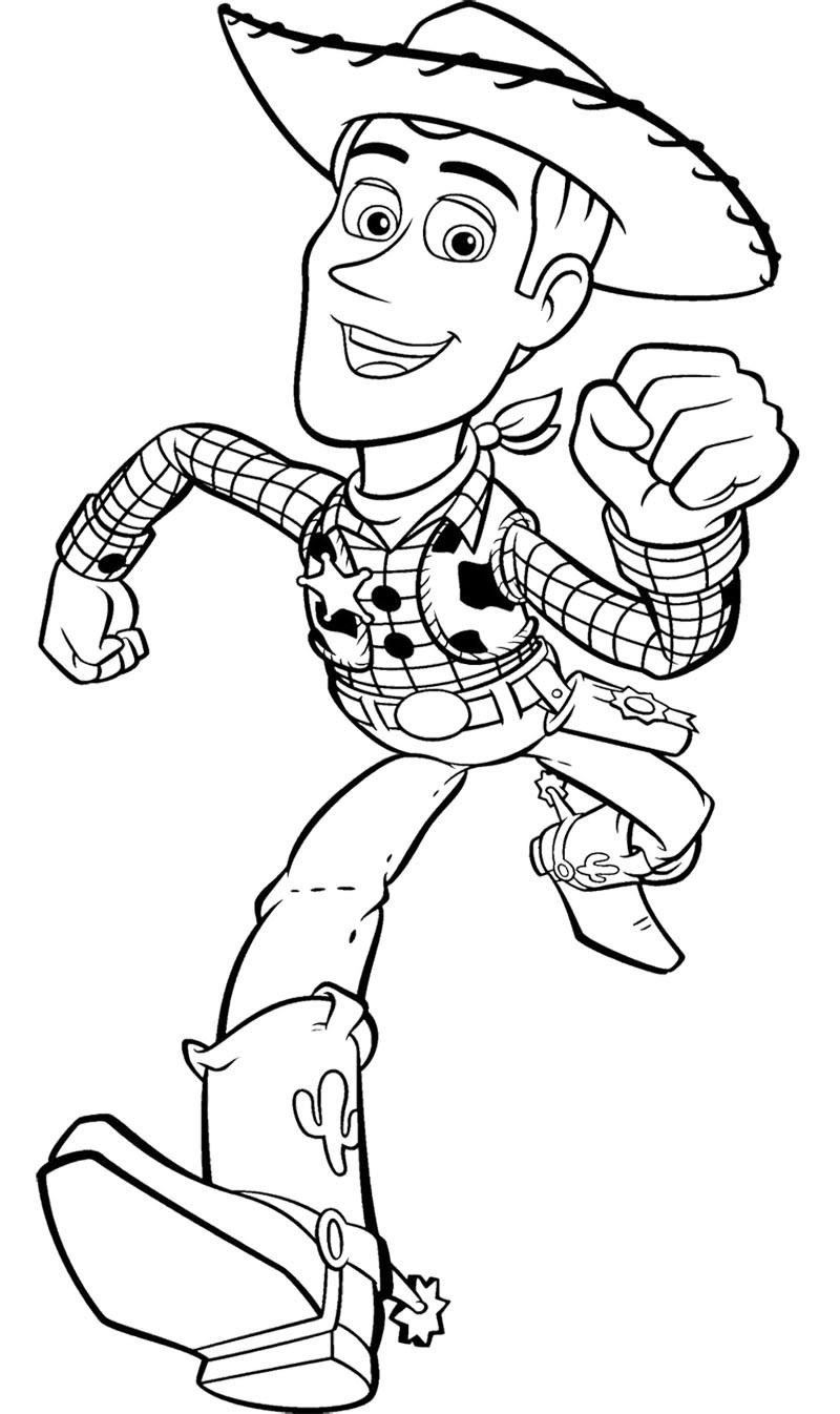 Toy Story Woody Drawing at GetDrawings | Free download