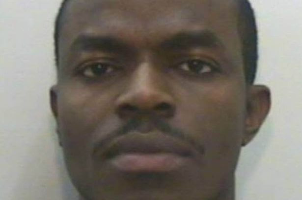 Locked up: Olajide Onikoyi stole hundreds of thousands of pounds from students in a cyber crime scam
