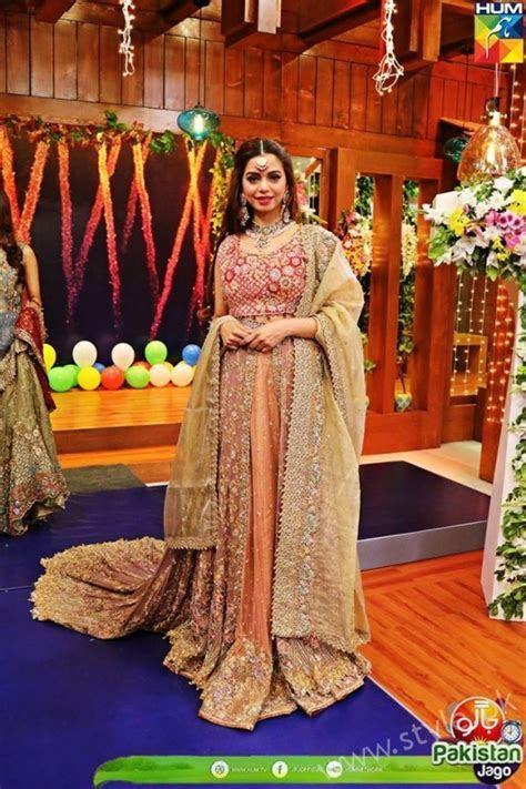 Bridal Fashion Trends in Pakistan dispalyed at Jago