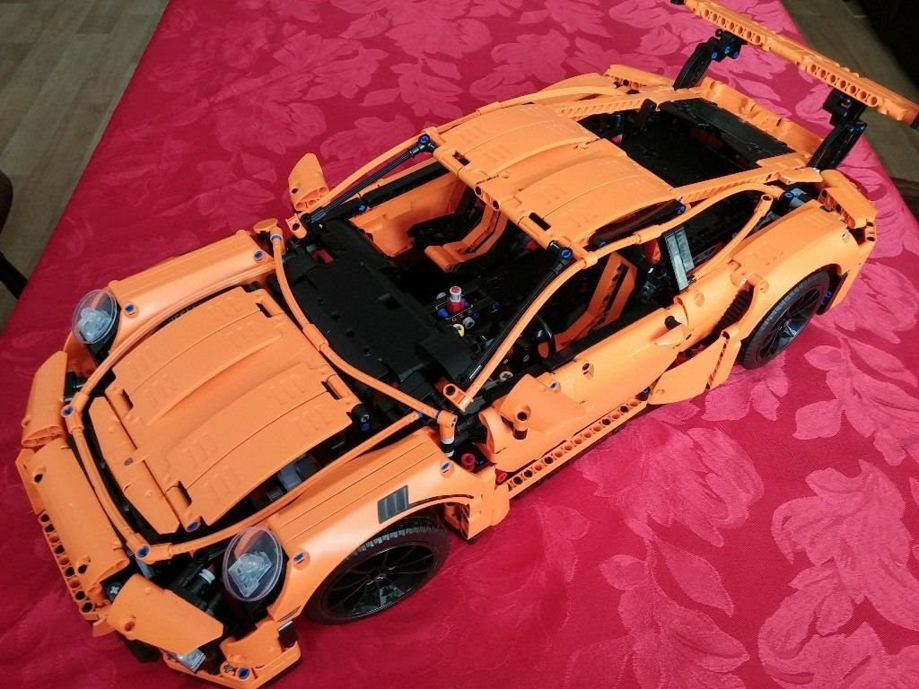 Lego Technic Porsche 911 Gt3 Rs 42056 Review Lego 42056