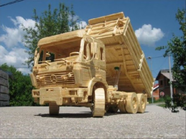 1424 Impressive Matchsticks Vehicles (20 photos)