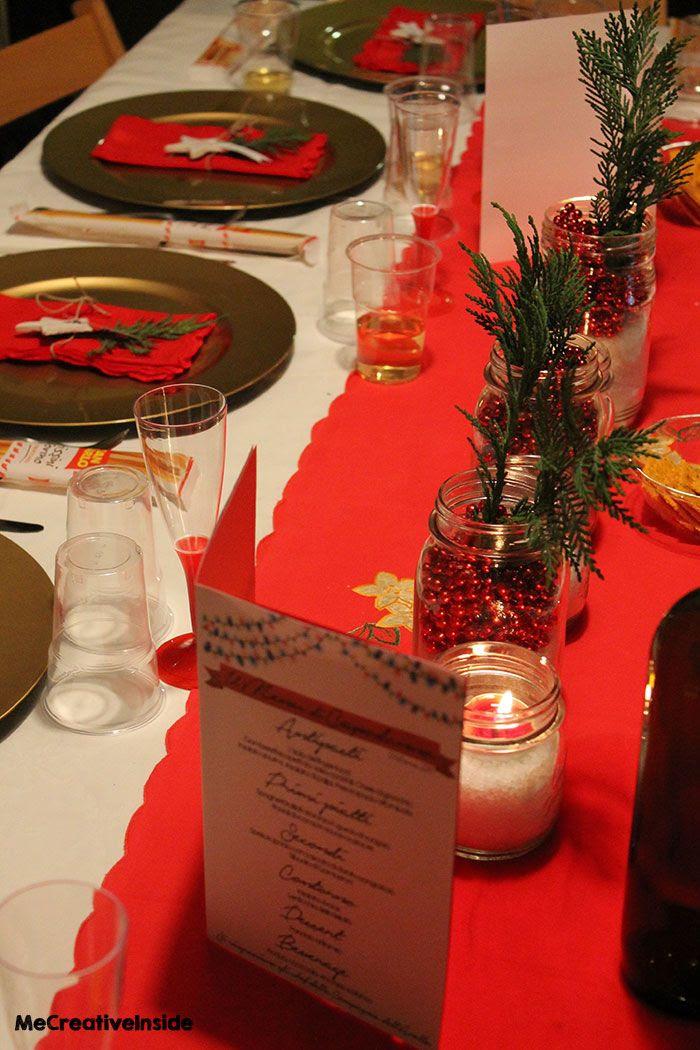 la tavola di capodanno idee facili tutorial segnaposto decorazione diy mecreativeinside