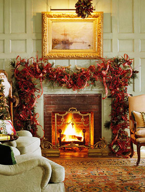 Holiday Decor: Ideas for Decorating the Mantel for Christmas ...