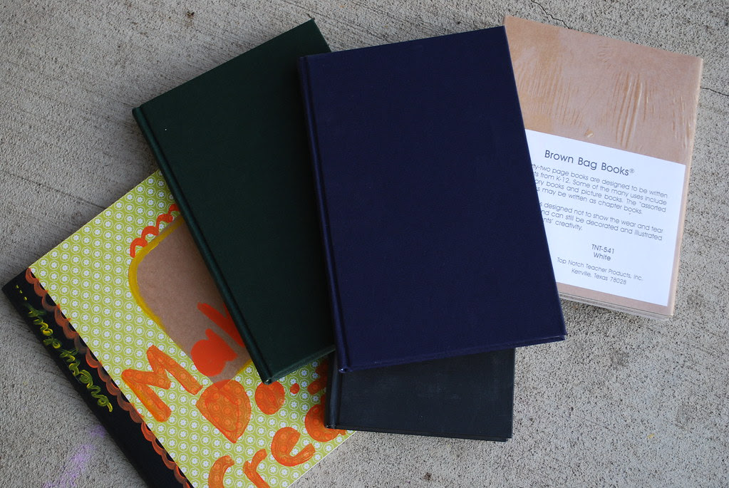 books for painted journals