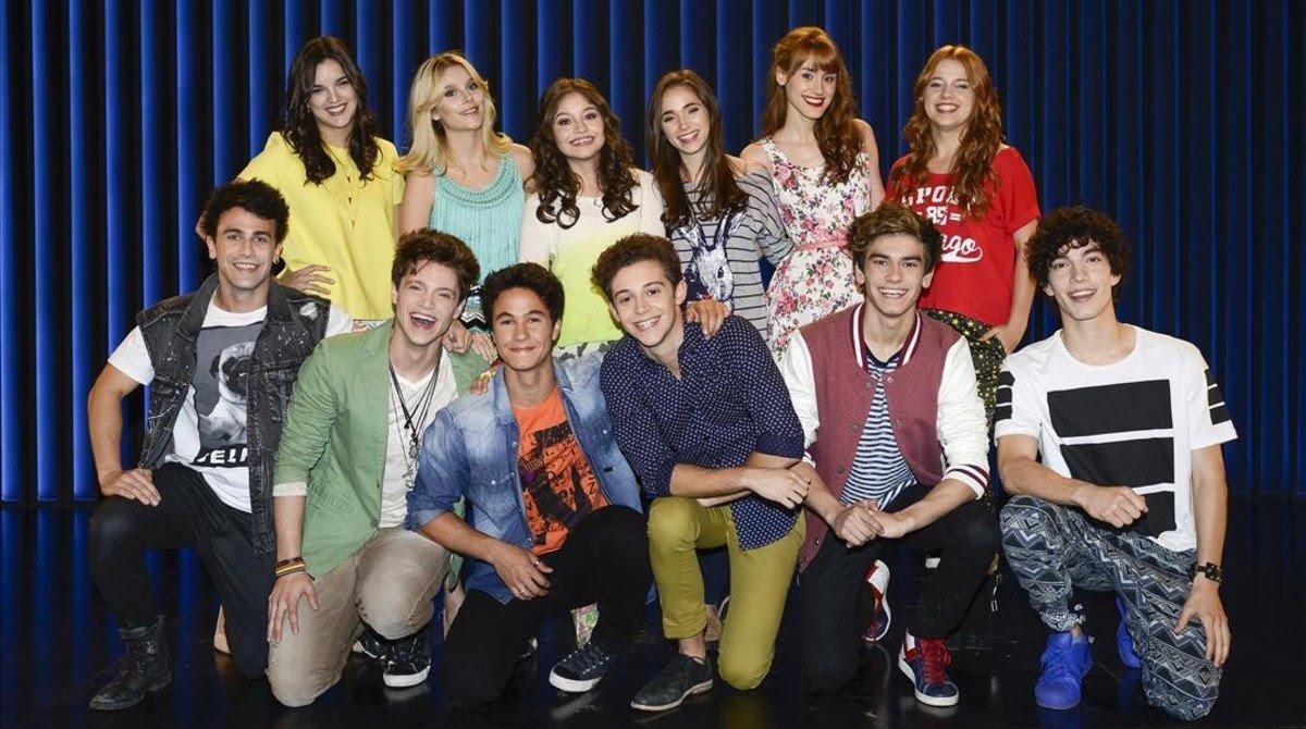 Los actores de la serie 'Soy Luna'