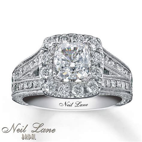 Neil Lane Engagement Ring 2 ct tw Diamonds 14K White Gold
