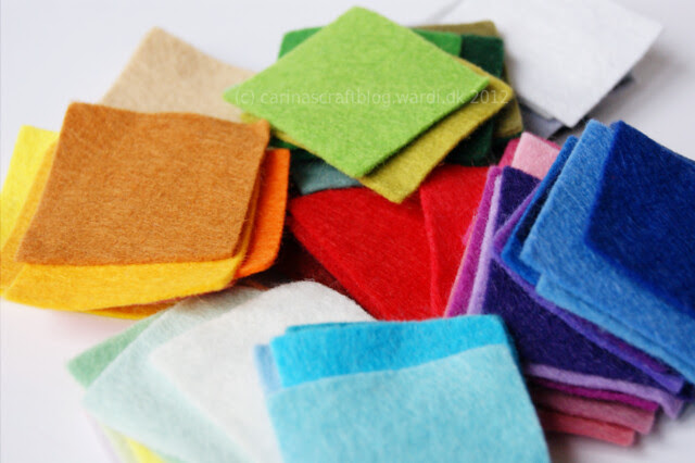 Felty squares