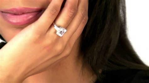 CZ Engagement Ring   YouTube