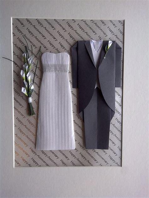 Origami Wedding Outfits   Paper Stuff   Papierkleider