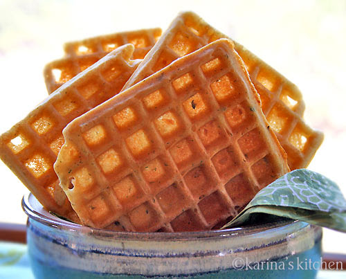 Vegan G-Free Waffles