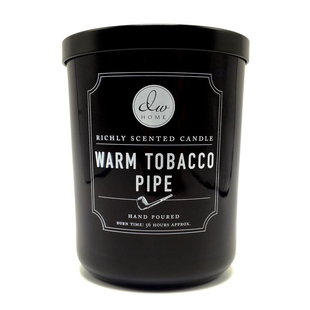 DW Home Warm Pipe Tobacco Richly Scented Candle Double ...