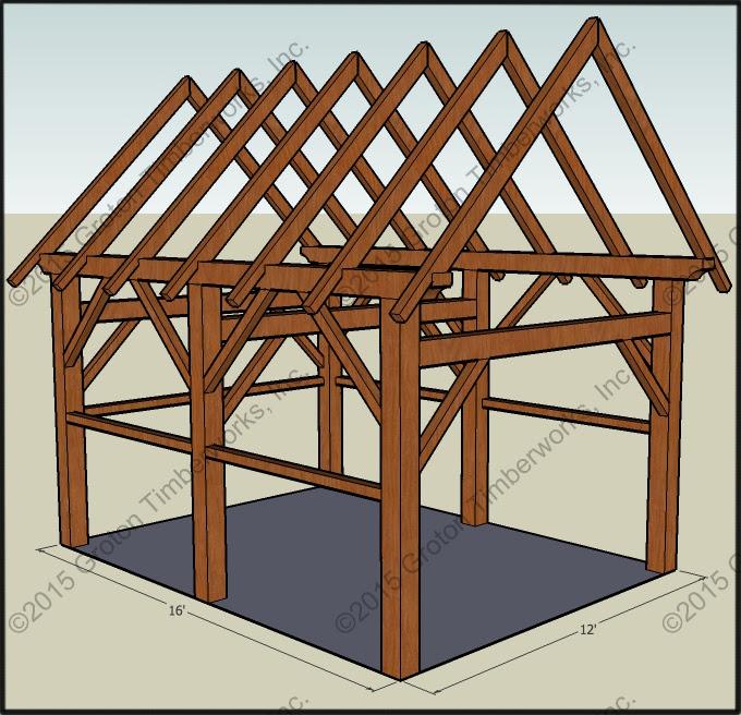 Timberframe Sheds Garages Groton Timberworks
