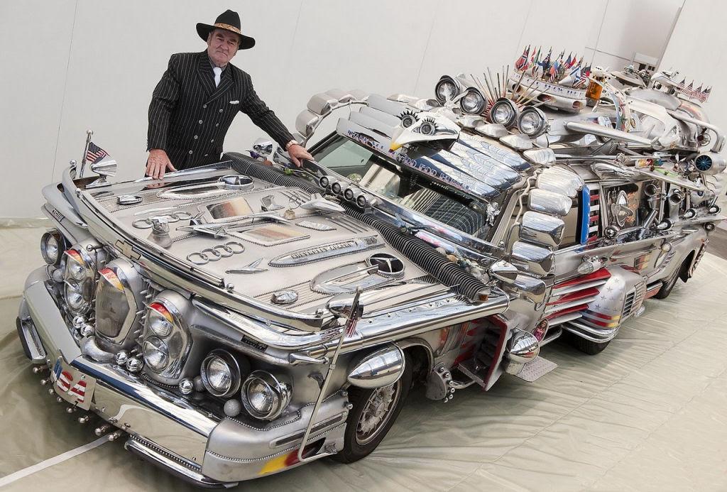 Uma limusine feita de ferro-velho que vale 1 milhão de dólares 11
