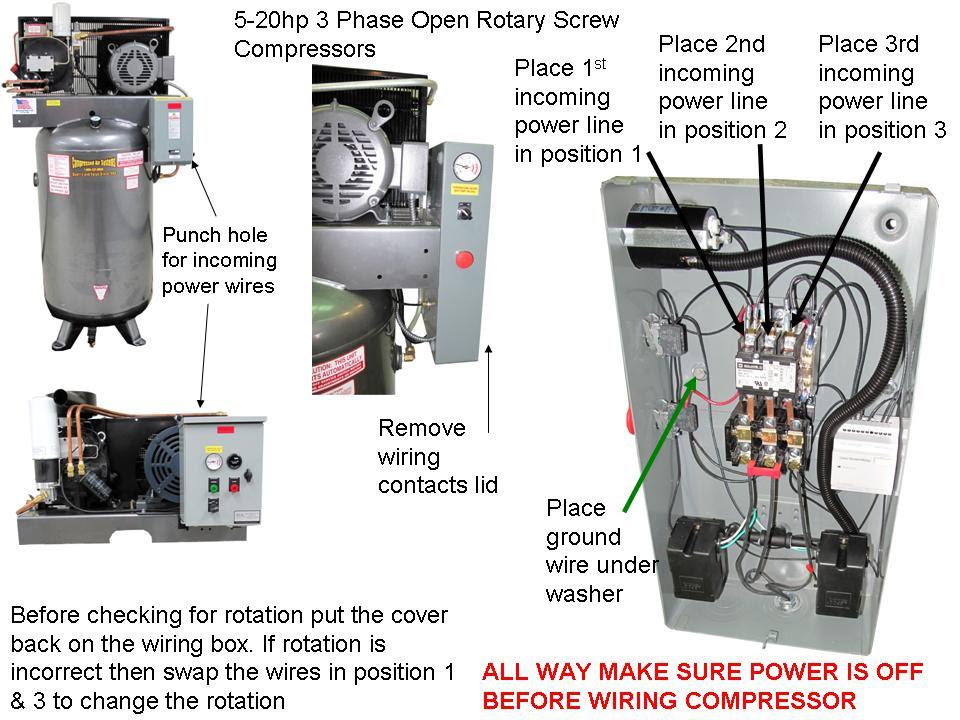 air compressor motor wiring diagram 110v or 220v image 9