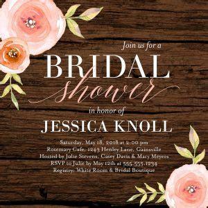 Bridal Shower Invitation Wording for 2018   Shutterfly