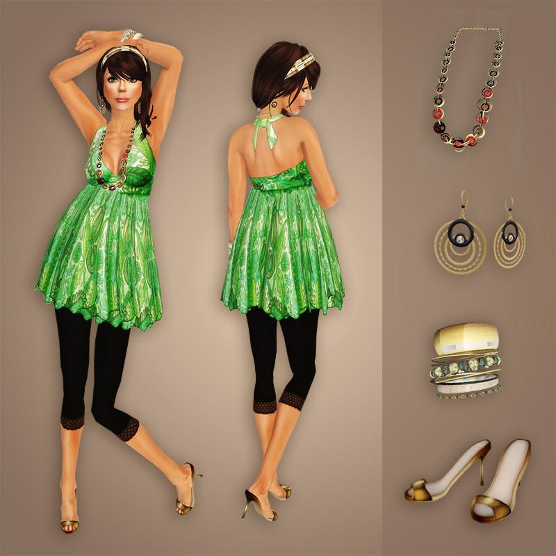 Fashion: Summer green