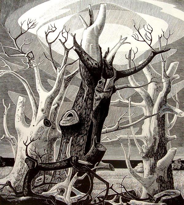 Los Dibujos Y Grabados En Madera De Monica Poole Pintura Y Artistas