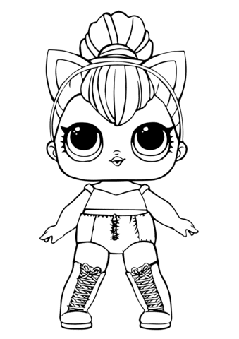 63 Lol Coloring Pages Kitty Queen Images & Pictures In HD