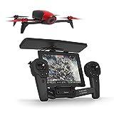 【国内正規品】Parrot Bebop 2 + Skycontroller レッド Full HD/30fps 魚眼レンズ カメラ・25分飛行時間・8GB 内部フラッシュメモリー・自動安定ホバーリング・最高水平速度:60KM/H・パリデザイン・GNSS (GPS+GLONASS)付・クワッドコプター 最大2kmまで拡張 PF726140