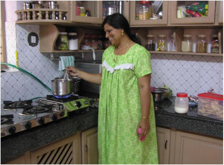 Home Architec Ideas Village Small House Low Cost Simple Kitchen