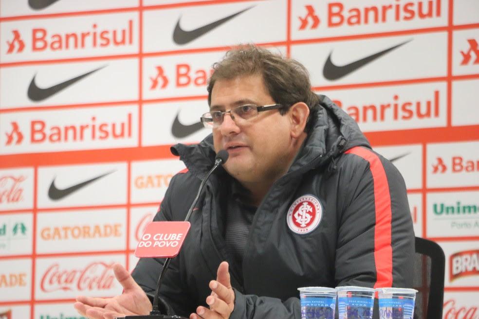 Guto Ferreira ajudou o Inter a conquistar a primeira vitória em casa pela Série B (Foto: Eduardo Deconto/GloboEsporte.com)