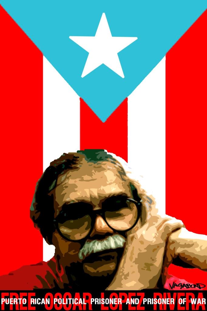Oscar Lopez Rivera POW by vagabond ©