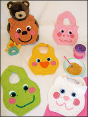 Baby Face Bibs Pattern Pack