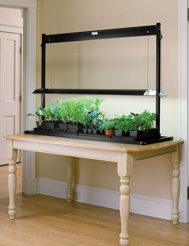 T5 Table Top Grow Lights  Made in the USA  Gardeners.com