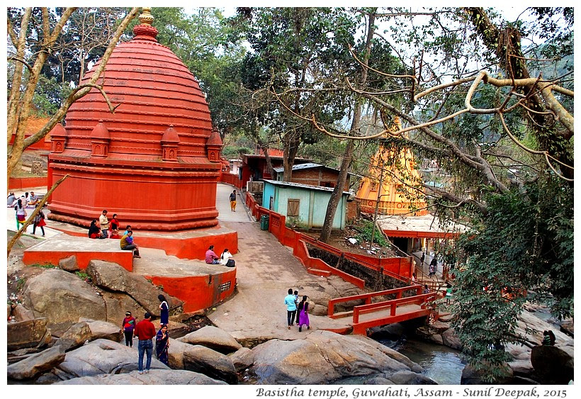 Guwahati City Walks - Basistha temple - Images by Sunil Deepak