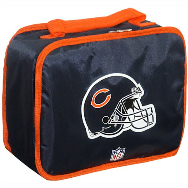 Chicago Bears Navy Blue Insulated NFL Lunch Box  NFLShop.com