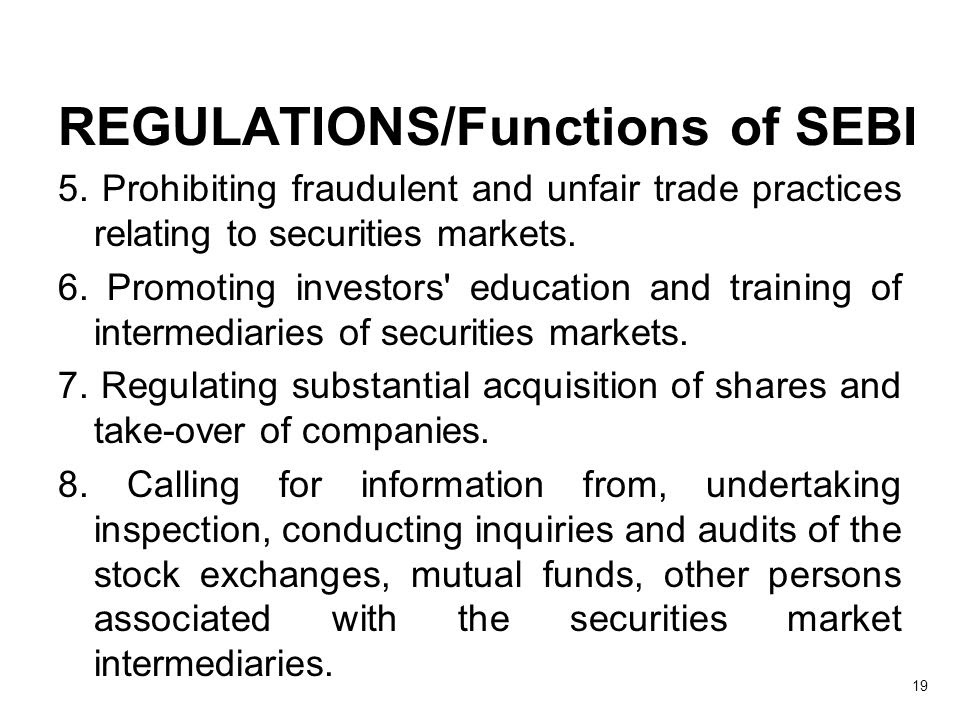 Image result for sebi regulations intermediaries act