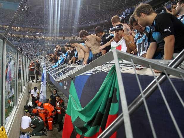 Grêmio quer manter geral como espaço mais popular para a torcida Foto:  / AFP