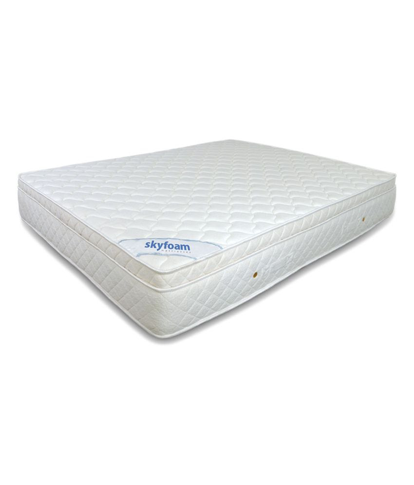 Sky Foam Crown Spring Mattress  Buy Sky Foam Crown Spring Mattress Online at Low Price  Snapdeal