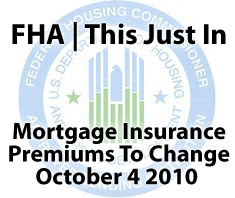 FHA mortgage insurance premiums ready to change