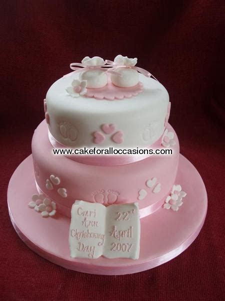 Cake C033 :: Christening Cakes :: Cakes for Celebrations