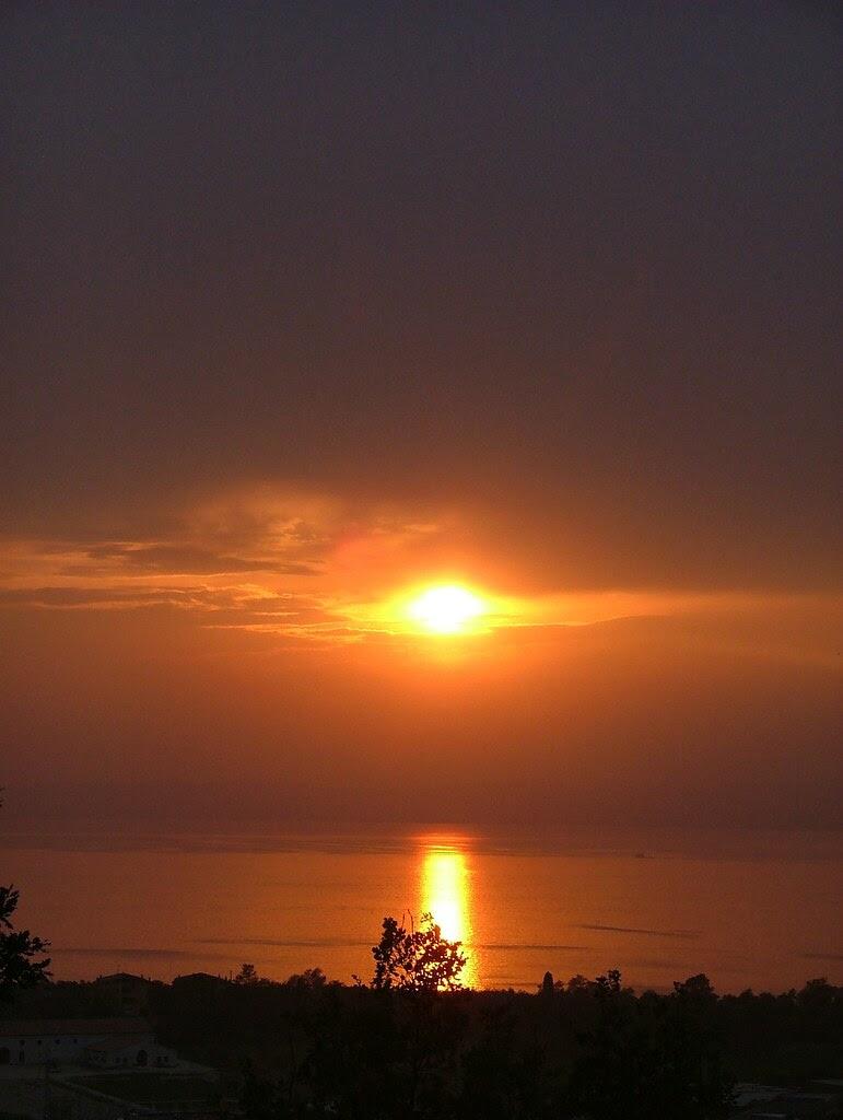 sunset 8 ottobre 2009